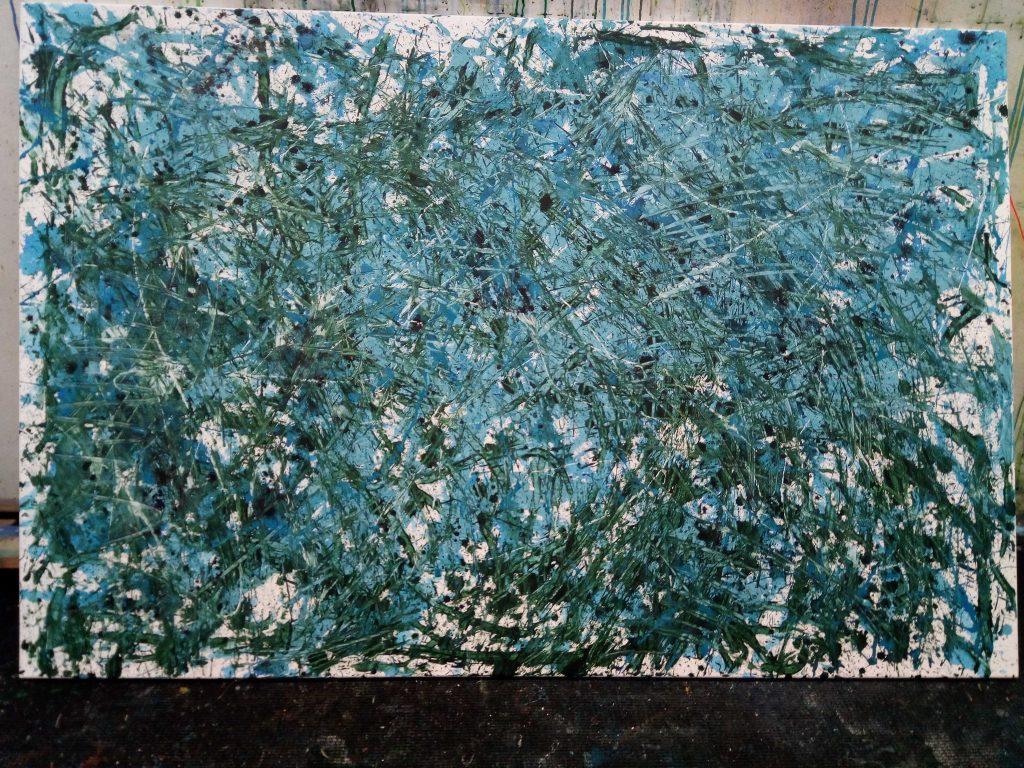 Action Painting - Zeitgenössische, moderne Malerei von Gerhard Knell